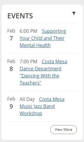 NMUSD Events